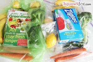 green bags experiment