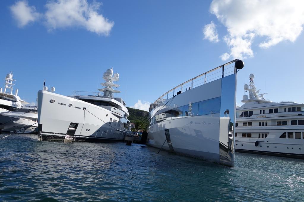 Venus Steve Jobs And Laurene Powell Yacht In Sint Maarten